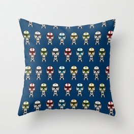 Clone Troopers Rainbow Throw Pillow