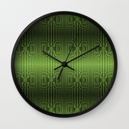 Good Green Vibrations Wall Clock