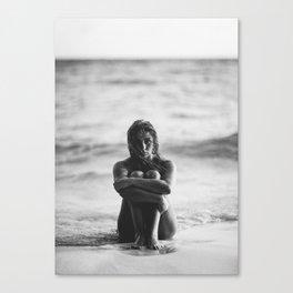 Dreamy Beach Day Canvas Print