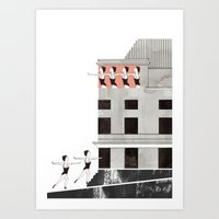 theatre Art Prints featuring Theatre by Ana Frois