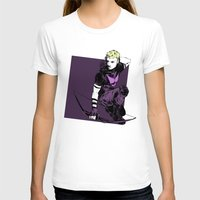 clint barton T-shirts featuring Clint Barton by The Radioactive Peach