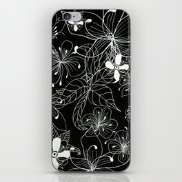 Floral-003 iPhone Skin