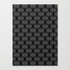 black undulation Canvas Print