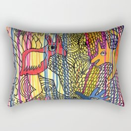 monsters society Rectangular Pillow