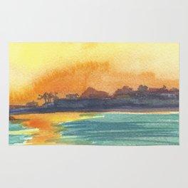 Cresent Bay Sunset Rug