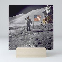 1536. Apollo 17 Crew Mini Art Print