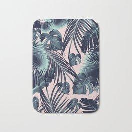 Tropical Jungle Leaves Dream #2 #tropical #decor #art #society6 Bath Mat