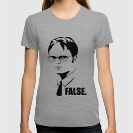 False funny office sarcastic quote T-shirt