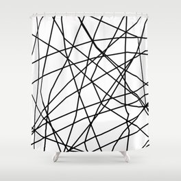 paucina v.3 Shower Curtain