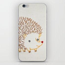 H Hedgehog iPhone Skin