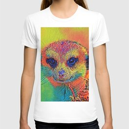 AnimalColor_Meerkat_034_by_JAMColors T-shirt
