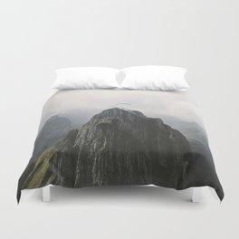 Flying Mountain Explorer - Landscape Photography Duvet Cover