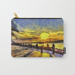Sunset Fishing Istanbul Van Gogh Carry-All Pouch