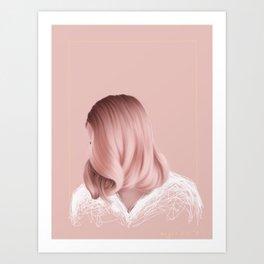 Candyfloss Art Print