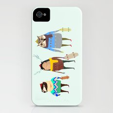 Skateboarders. iPhone (4, 4s) Slim Case