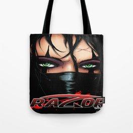 RAZOR MASK by Everette Hartsoe Tote Bag