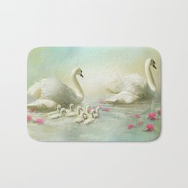 Swan Song Bath Mat