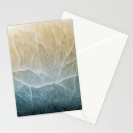 Abstract mineral texture Stationery Cards