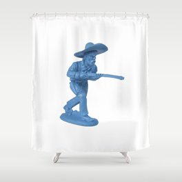 Bad hombre 2 Shower Curtain