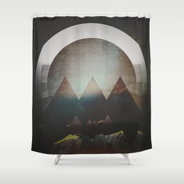 Fractions B07 Shower Curtain