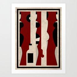 Harlot II Art Print