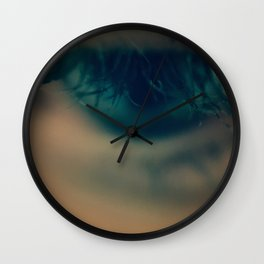 Blue Haze Wall Clock