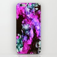 siren iPhone & iPod Skins featuring Siren by Claire Day