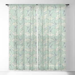Pattern #25 Sheer Curtain