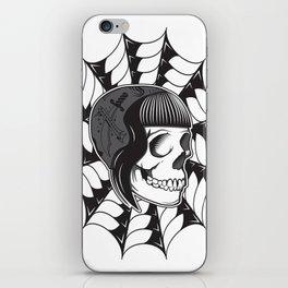 Sweetheart (White) iPhone Skin