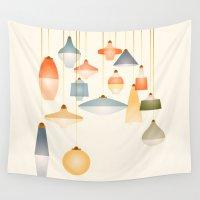belle Wall Tapestries featuring la belle lumière by rollerpimp