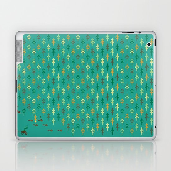 Reforestation Laptop & iPad Skin