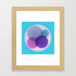 Venn Framed Art Print