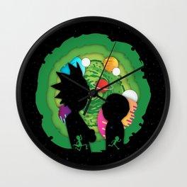 Rick and Mortyi Wall Clock