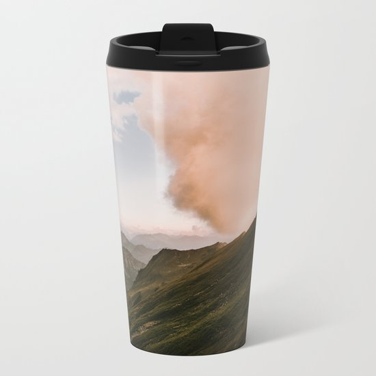 Far Views II - Landscape Photography Metal Travel Mug