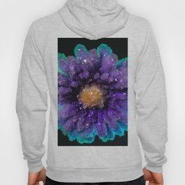 Crystalized Flowers Hoody