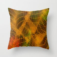 Abstract Texture 2014-12-13 Throw Pillow