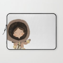 Cute eskimo Laptop Sleeve