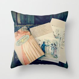 Austen Throw Pillow