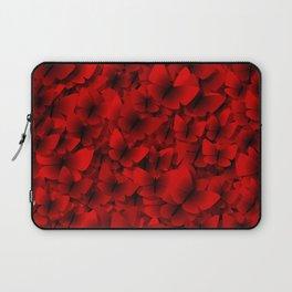red butterflies Laptop Sleeve