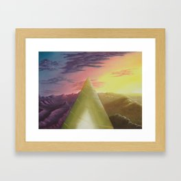 Emergence Framed Art Print