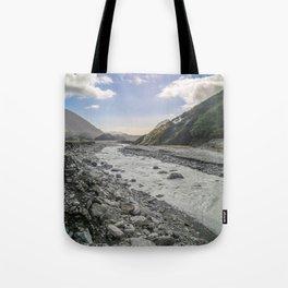 Beyond the Glacier Valley Tote Bag