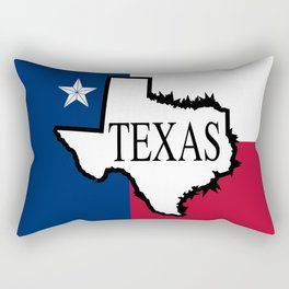 State of Teaxs Rectangular Pillow