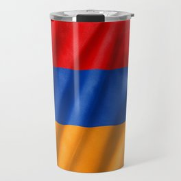 Armenia Flag Travel Mug