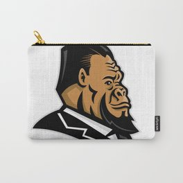 Well-Groomed Gorilla Mascot Carry-All Pouch