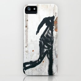 People Disappear, Right Before Our Eyes, Like Old Bricks In a Wall iPhone Case