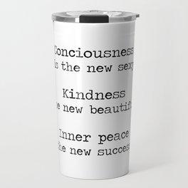 Redefining sexy, beautiful, successful. Travel Mug