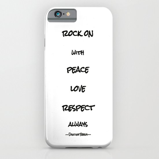 my life mantra iPhone & iPod Case