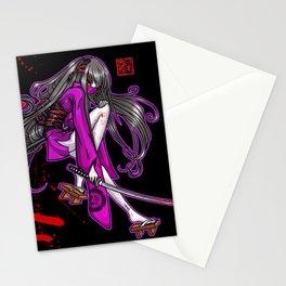 Kenjutsu Calligraphy by Nipponaisuki Stationery Cards