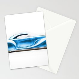 Vintage 1934 blue Packard Eight 2/4-Passenger Coupe Stationery Cards