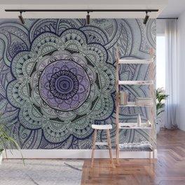 Mandala Violet Wall Mural